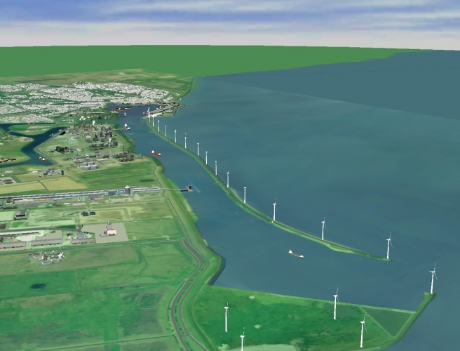 Windpark Delfzijl