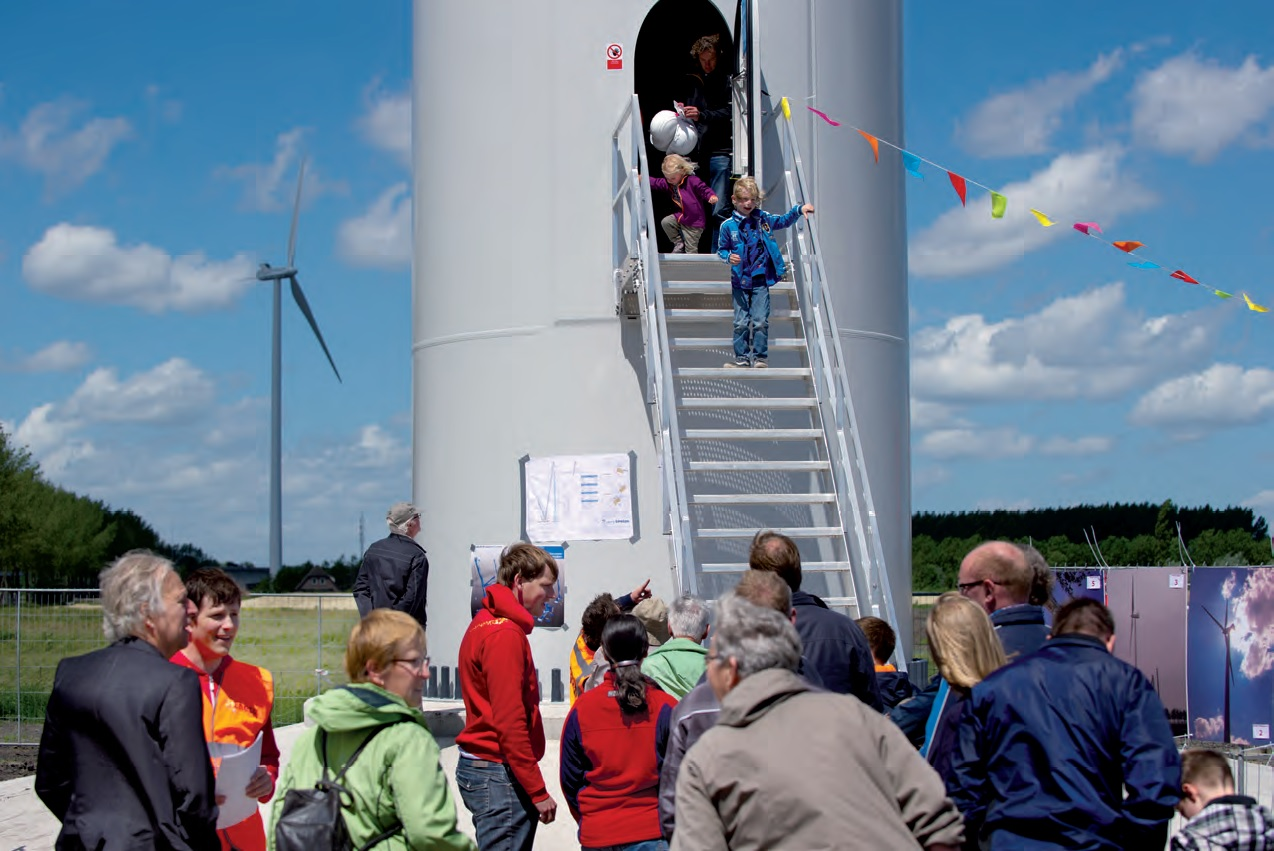 Open dag windpark Houten