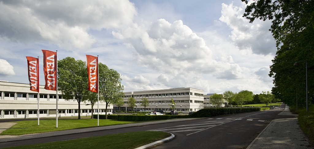 The VELUX Group office in Denmark
