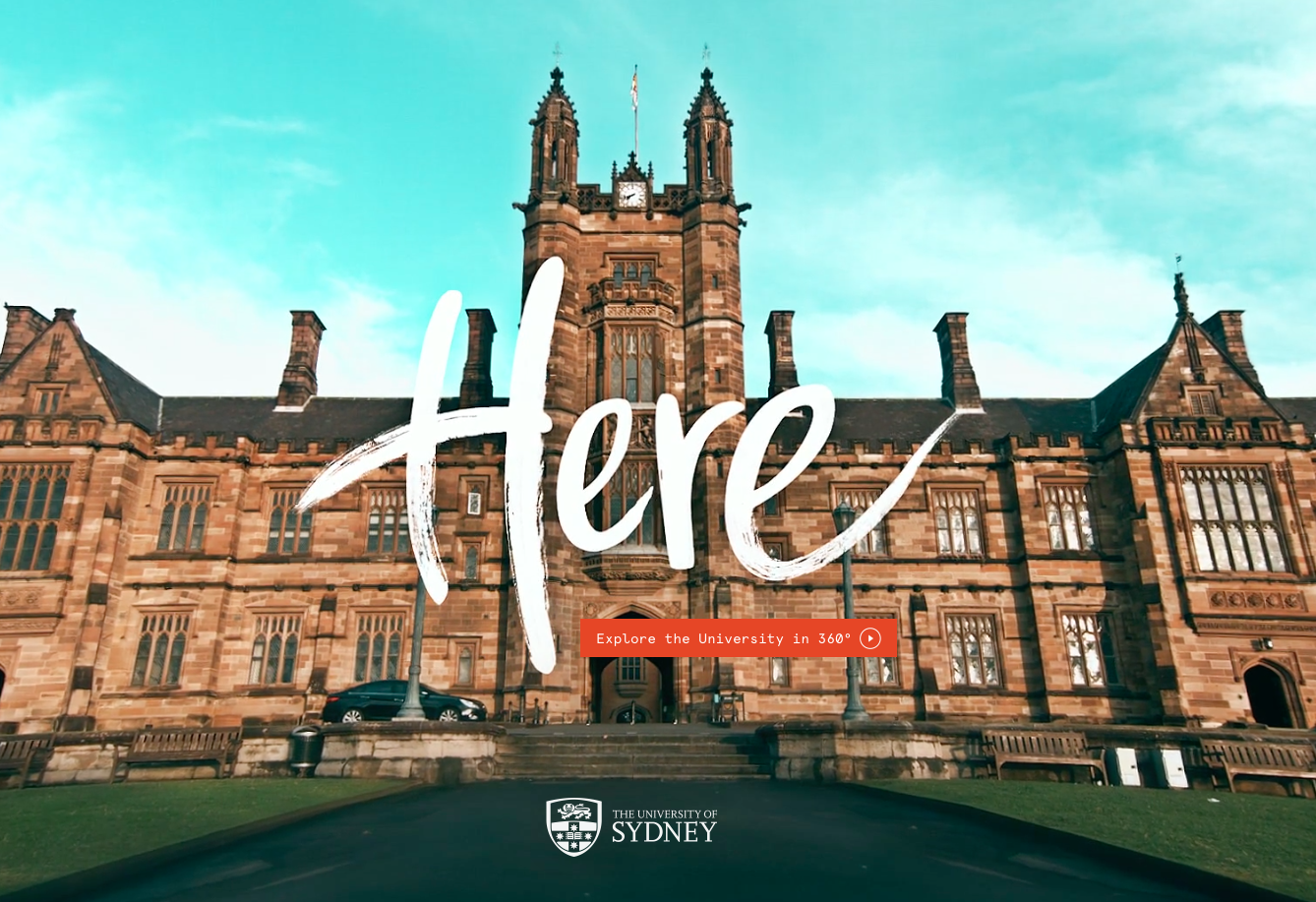 360 degrees video University of Sydney future of PR