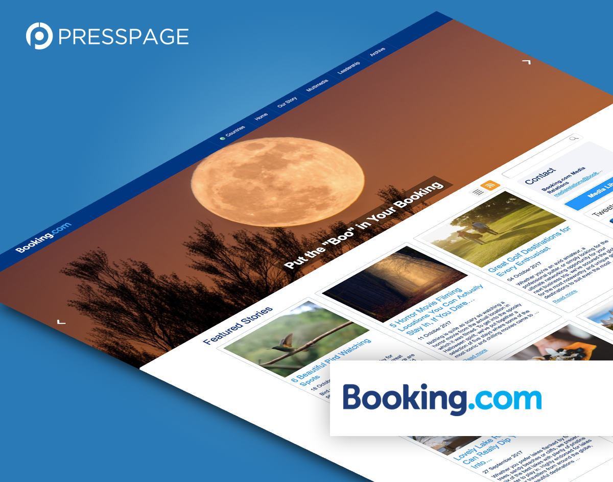 PressPage - Booking.com