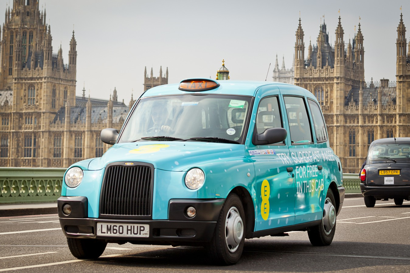 4GEE Taxi - Westminster Bridge
