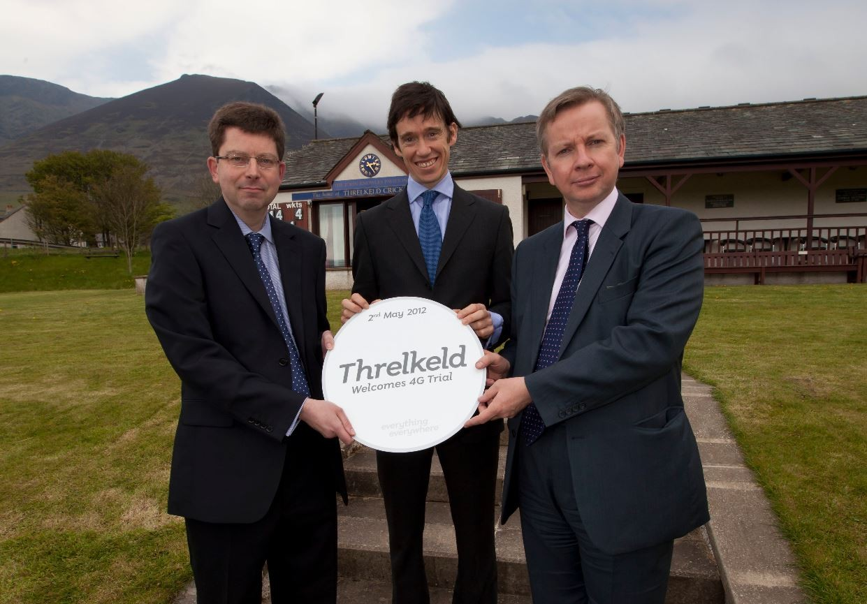 4G trial - Threlkeld in Cumbria May 2012