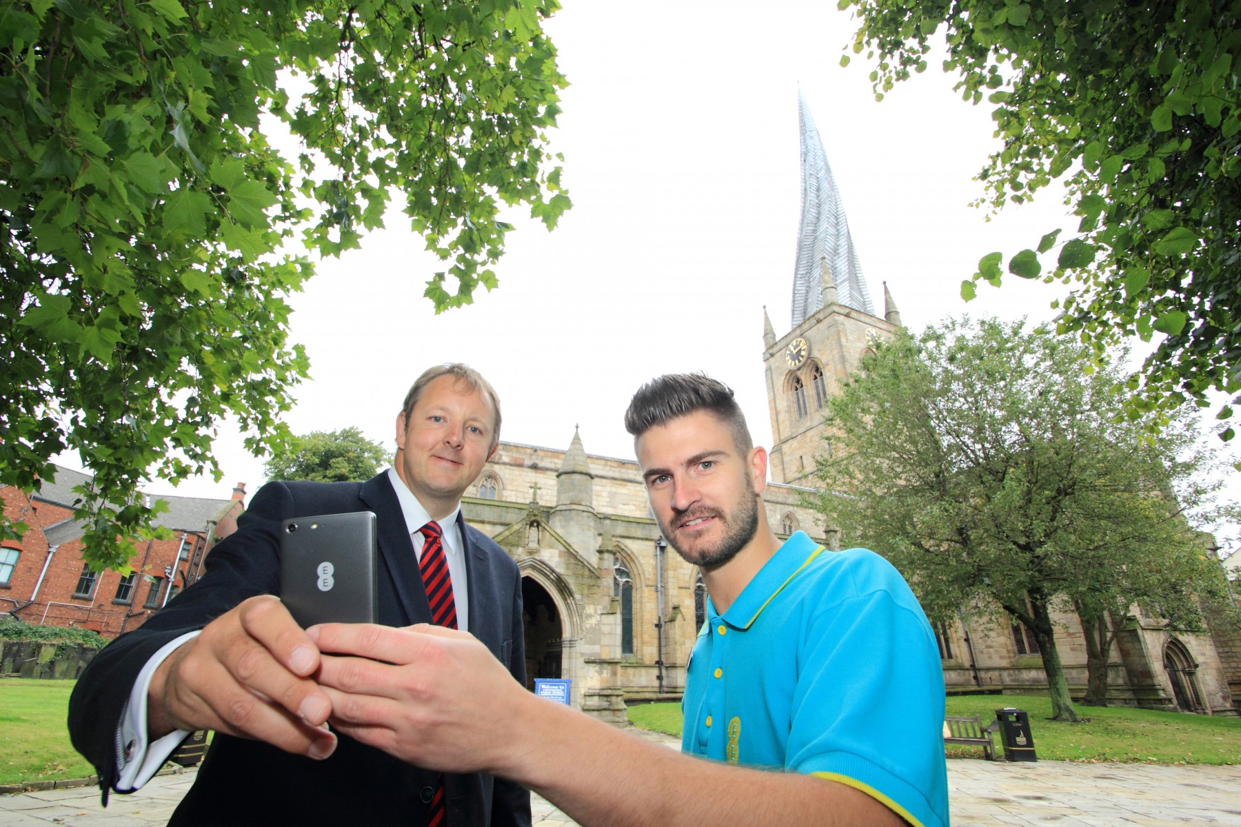 EE launches in Chesterfield - September 2014