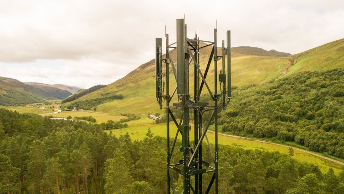 EE Partners with Scottish Government and Home Office to connect rural locations to 4G Strathconon - WHP Telecoms Ltd