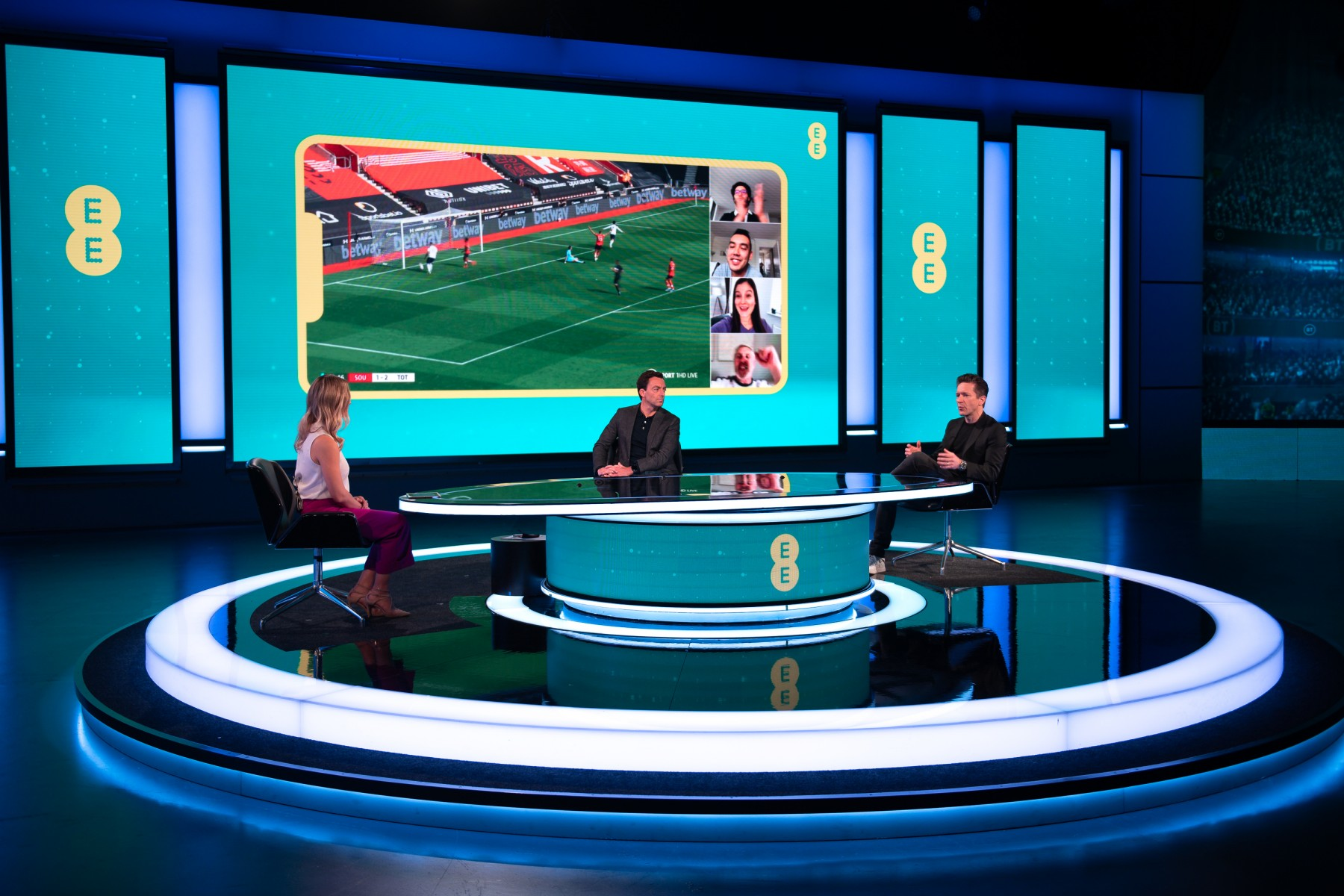 EE unveils new Match Day Experience features