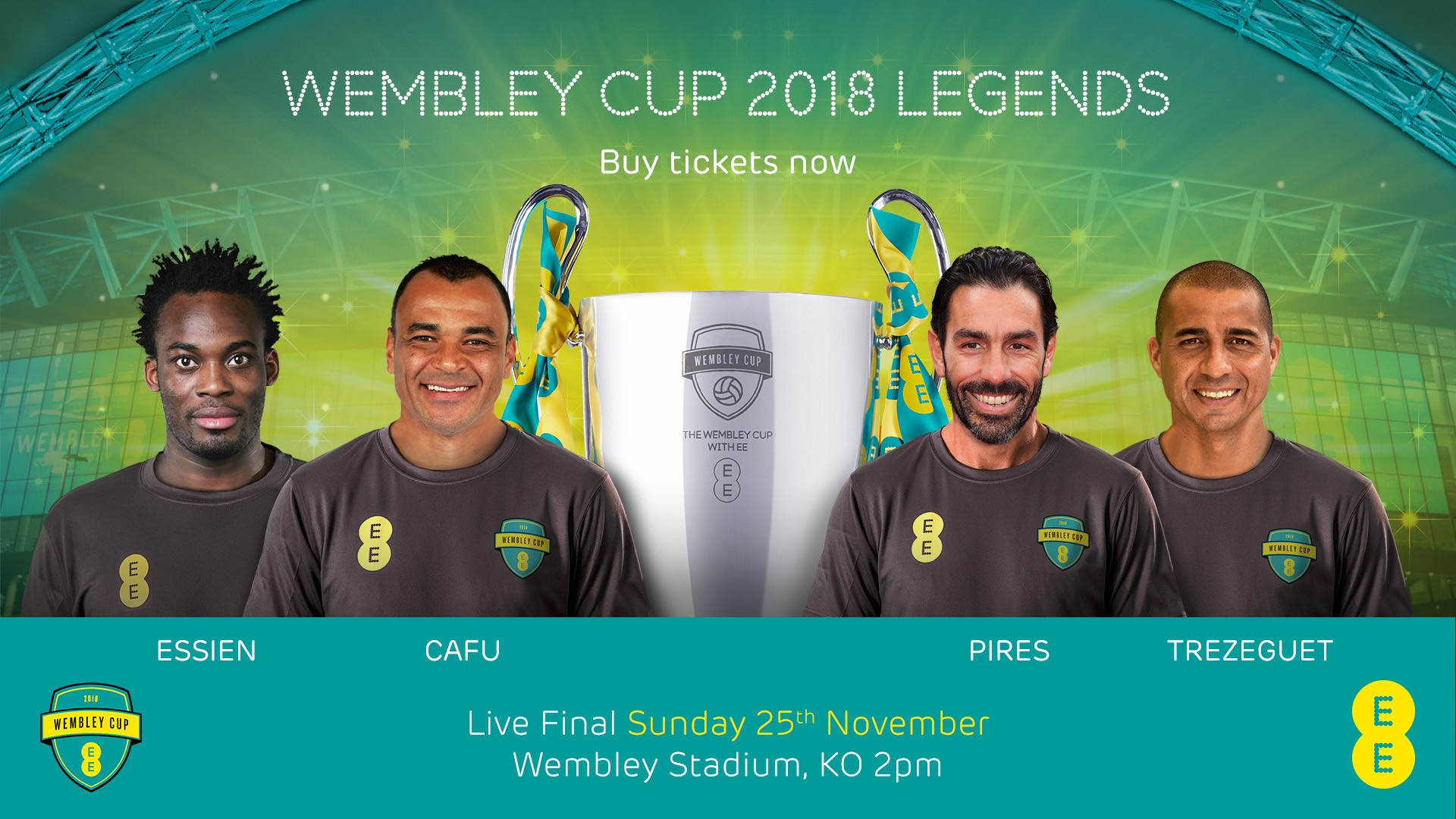 The EE Wembley Cup 2018 Legends