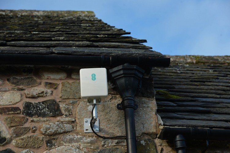 EE's new 4G antenna
