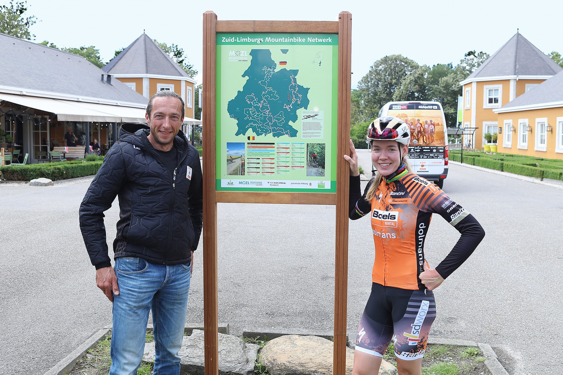 Landal CBG Bart Brentjes onthult classificatie Mountainbikeroute