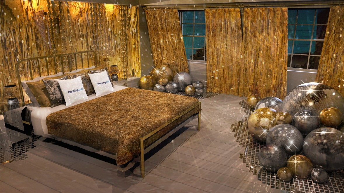 House of Sparkle bedroom