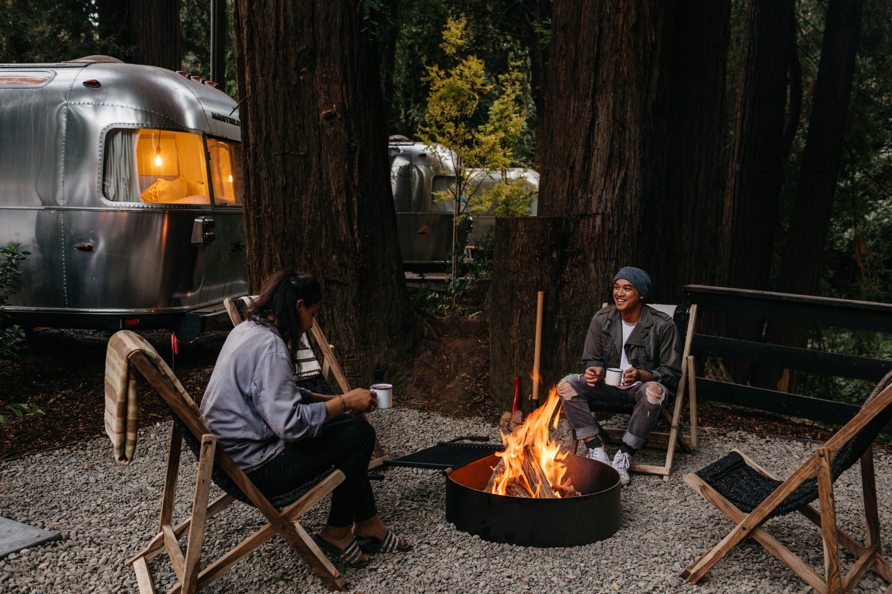 AutoCamp Russian River outside
