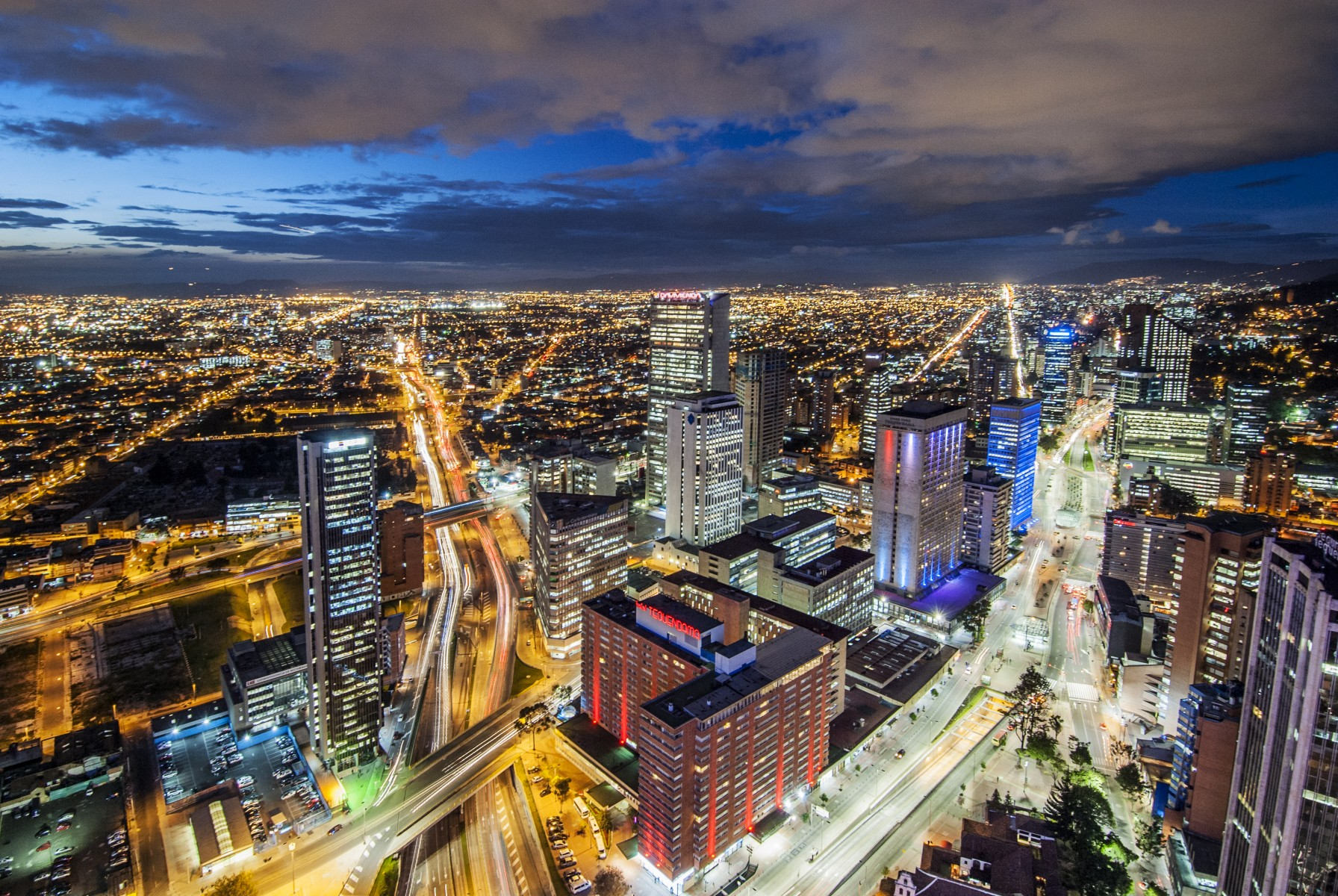Bogota Skyline cityscape in Bogota capital city of ...  |Bogota