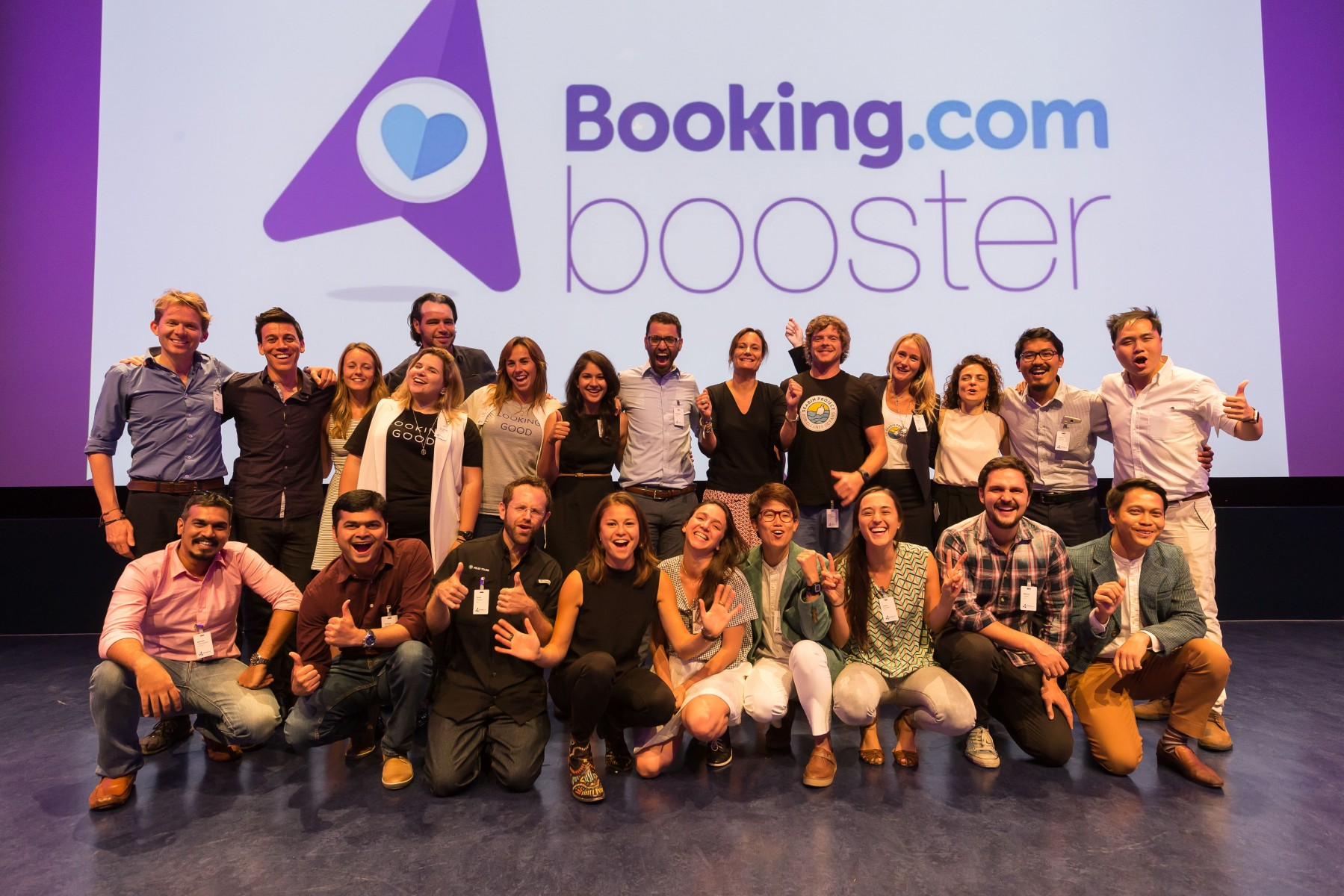 Booking.com Booster Startups with Gillian Tans at Final Pitch Event
