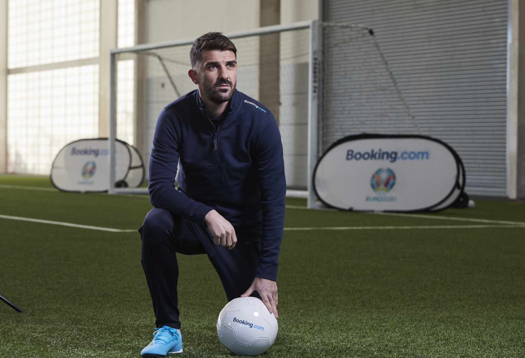 Booking.com Global Ambassador for UEFA EURO 2020 David Villa - 1