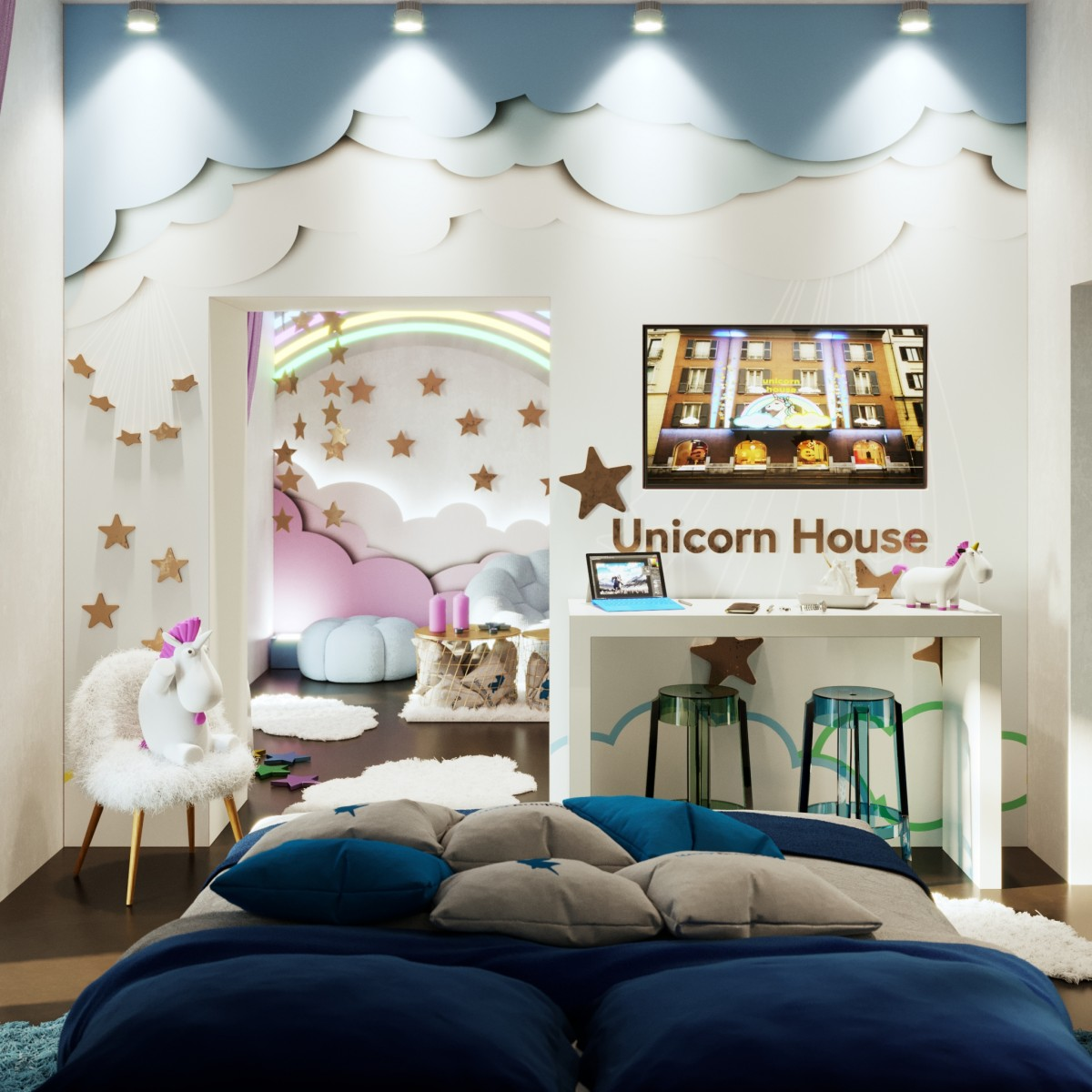 Booking.com Unicorn House