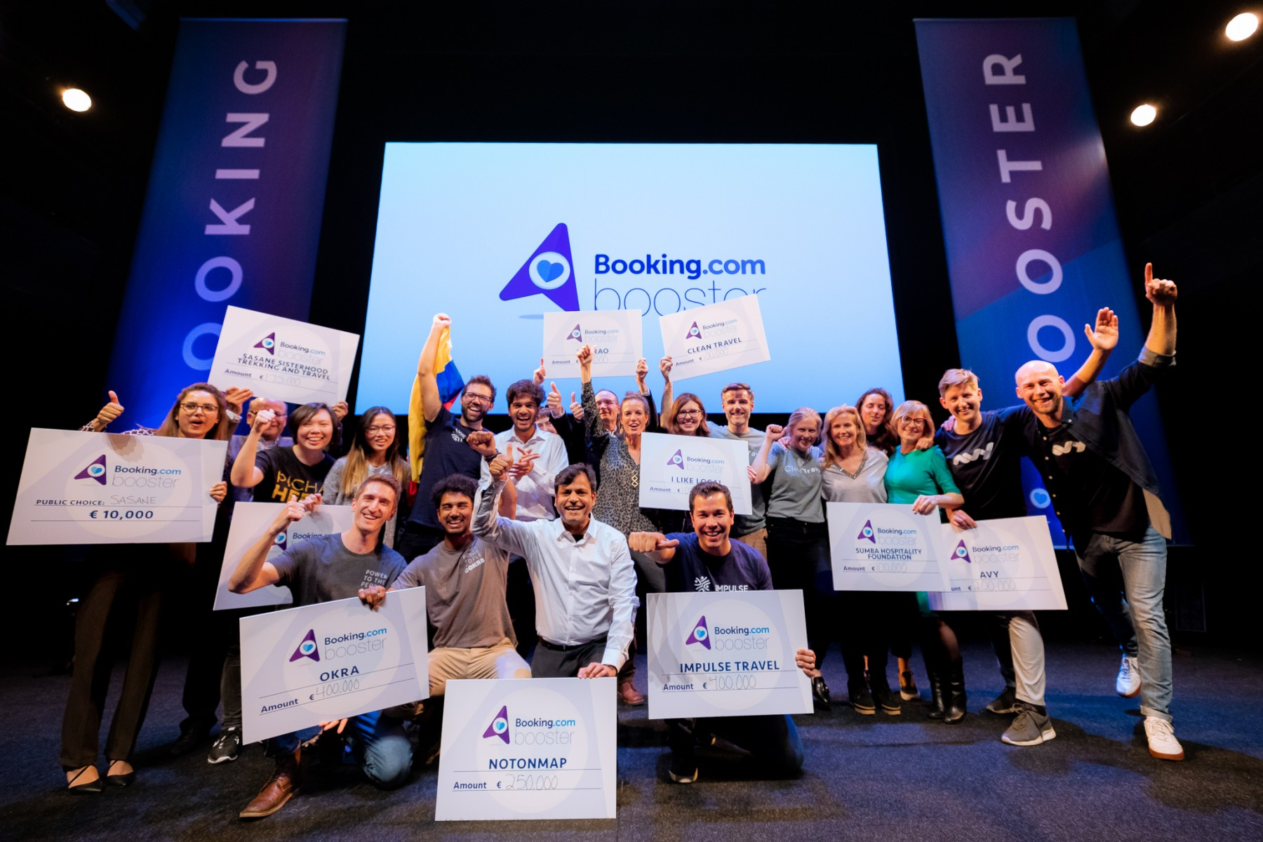 Booking Booster Finale 2019 - Grant Recipients