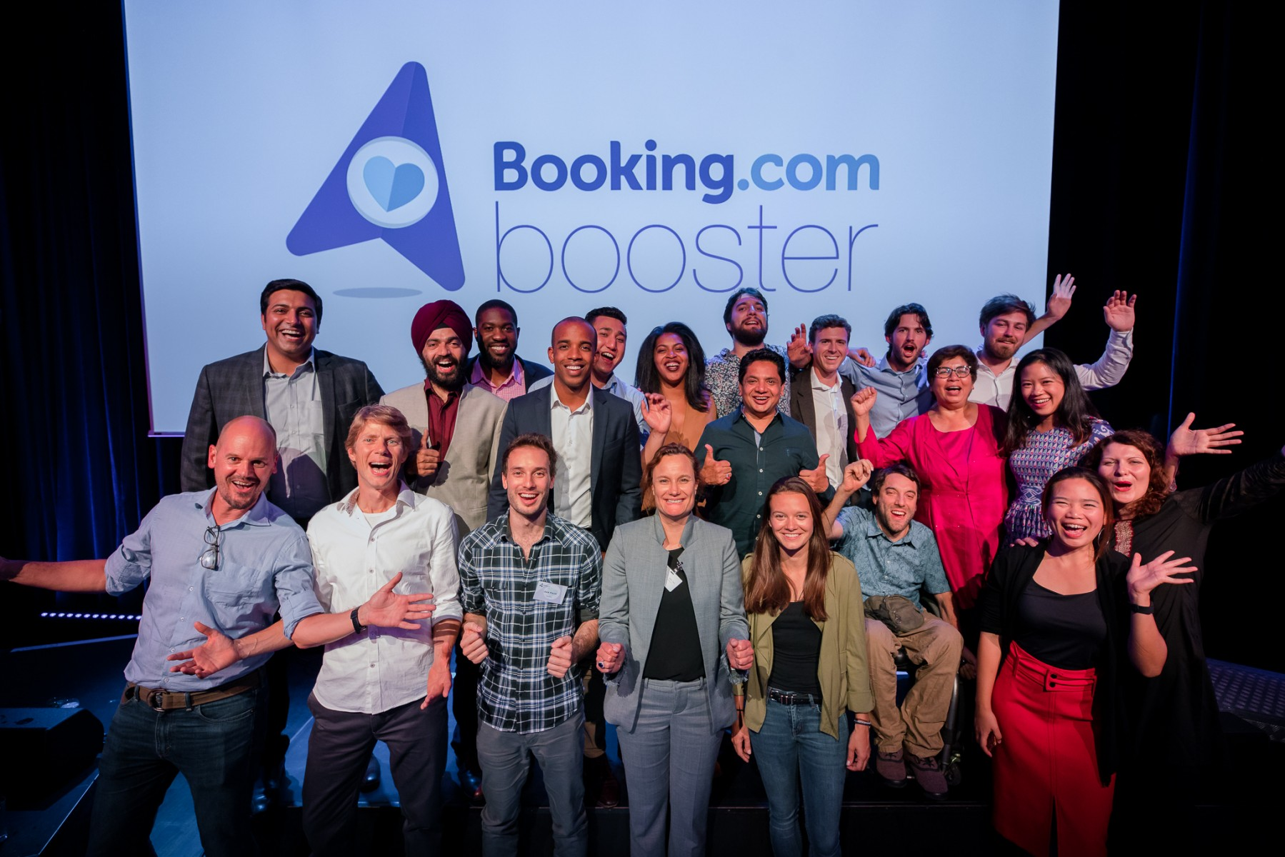 Booking Booster Grant Recipients 2018