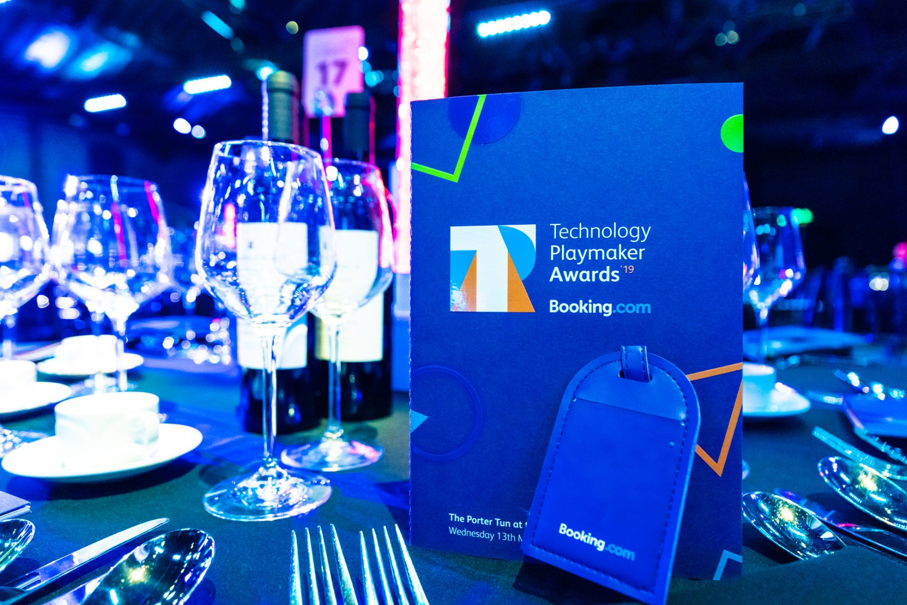 Booking Tech Playmaker19 Awards
