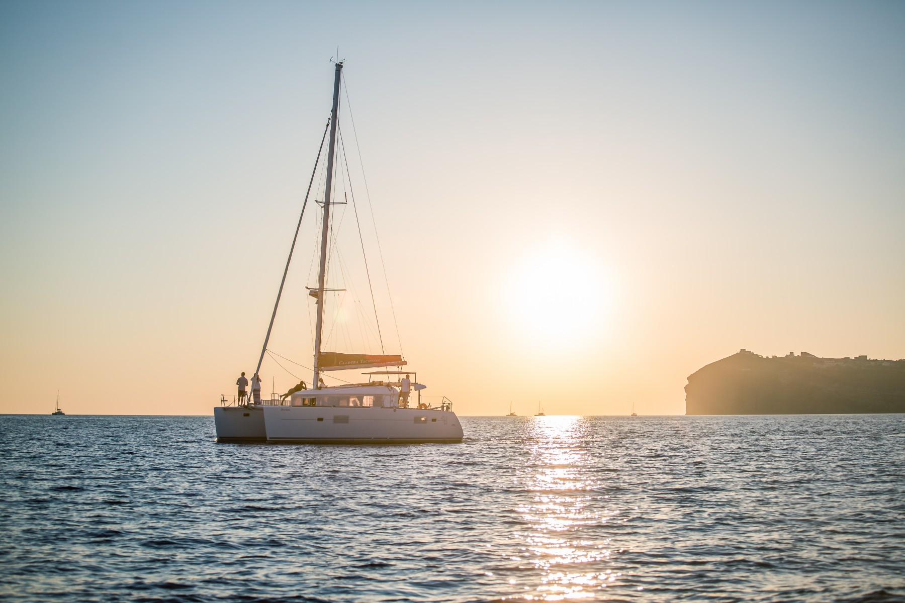 Booking.com Caldera Yachting Catamaran