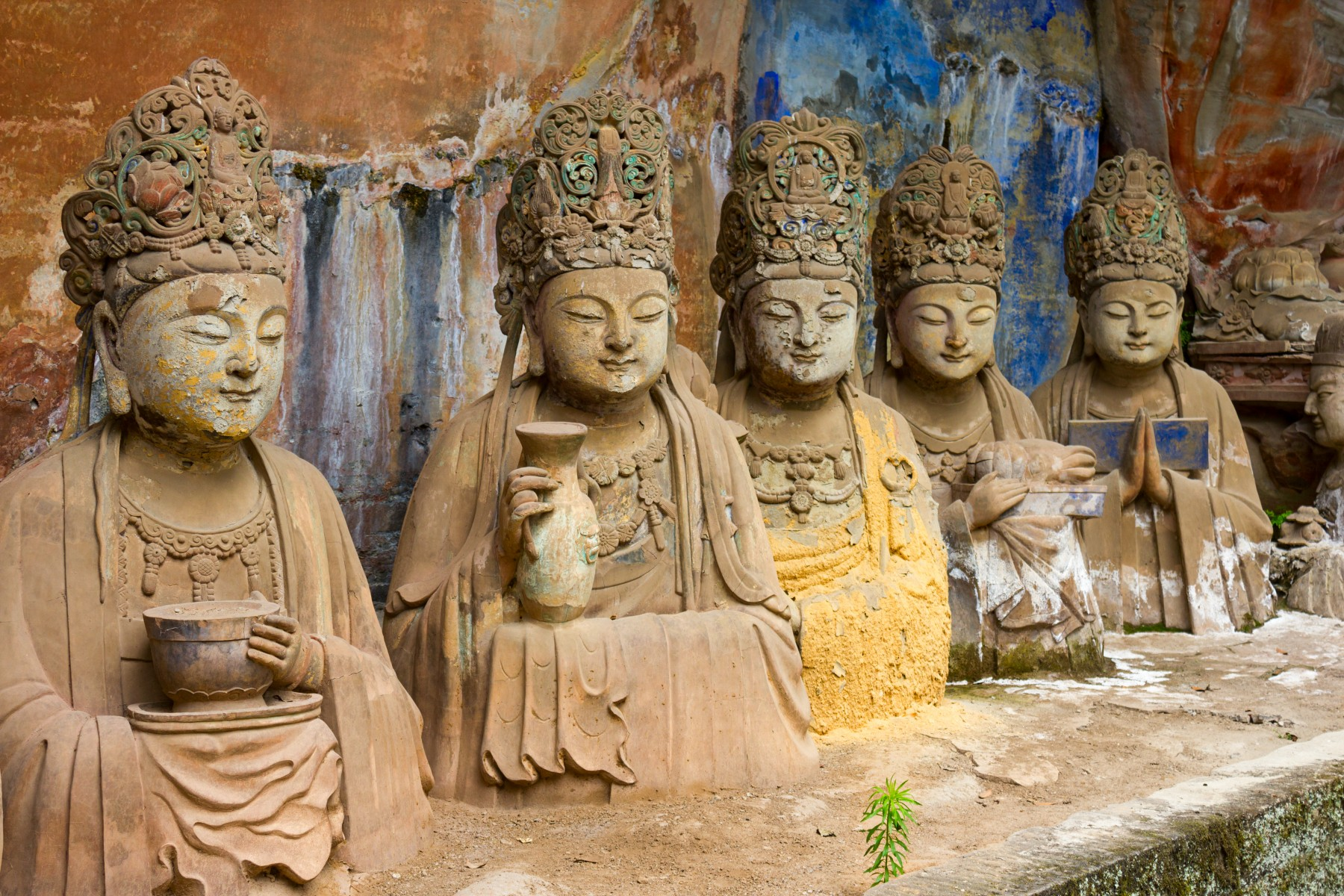 Cultural attractions _Dazu Rock Carvings in China