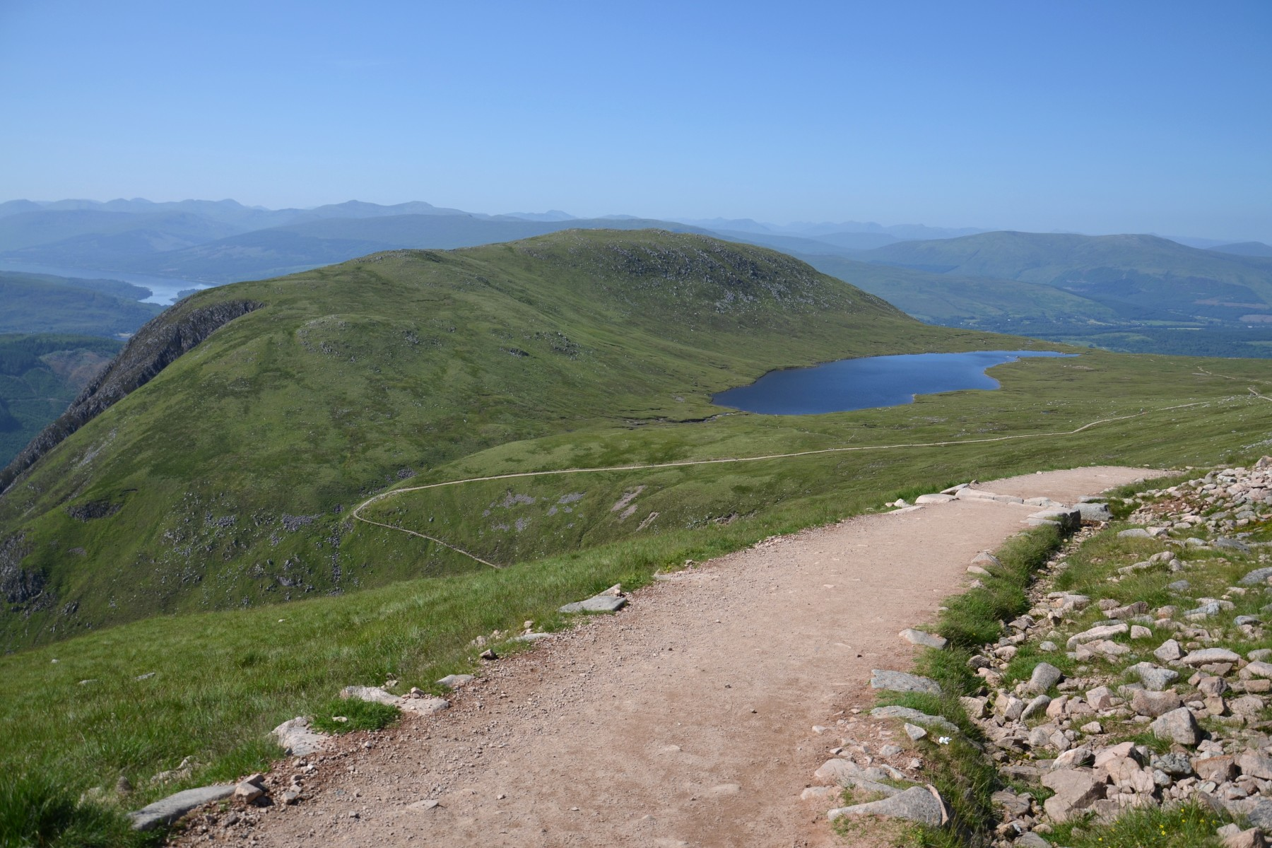 Fort William_Path to Ben Nevis