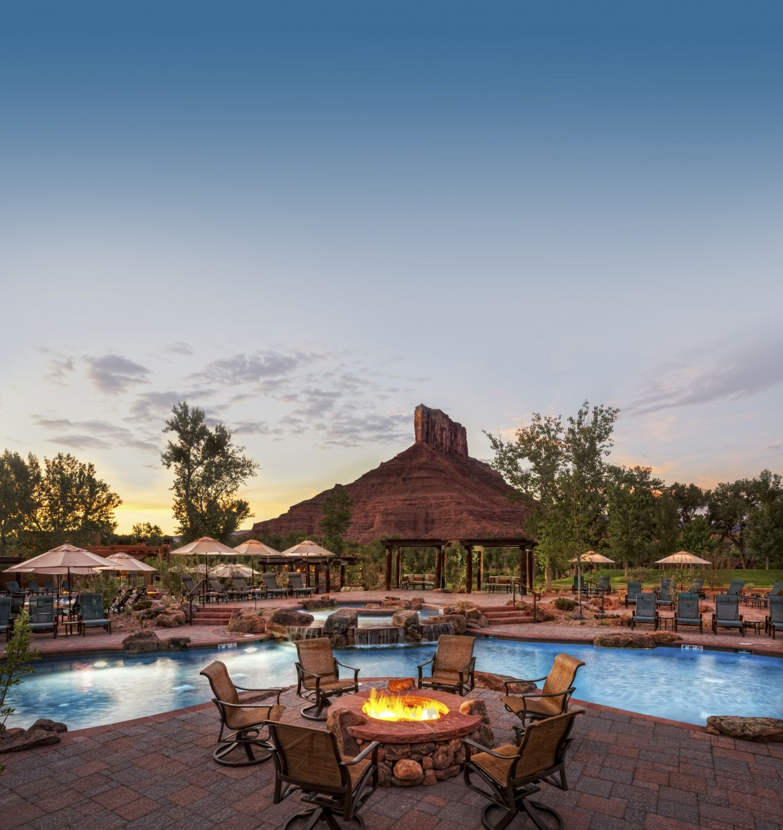 Gateway Canyons Resort, a Noble House Resort view