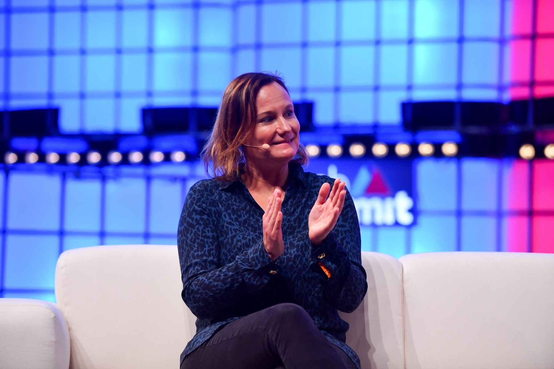 Gillian at Web Summit
