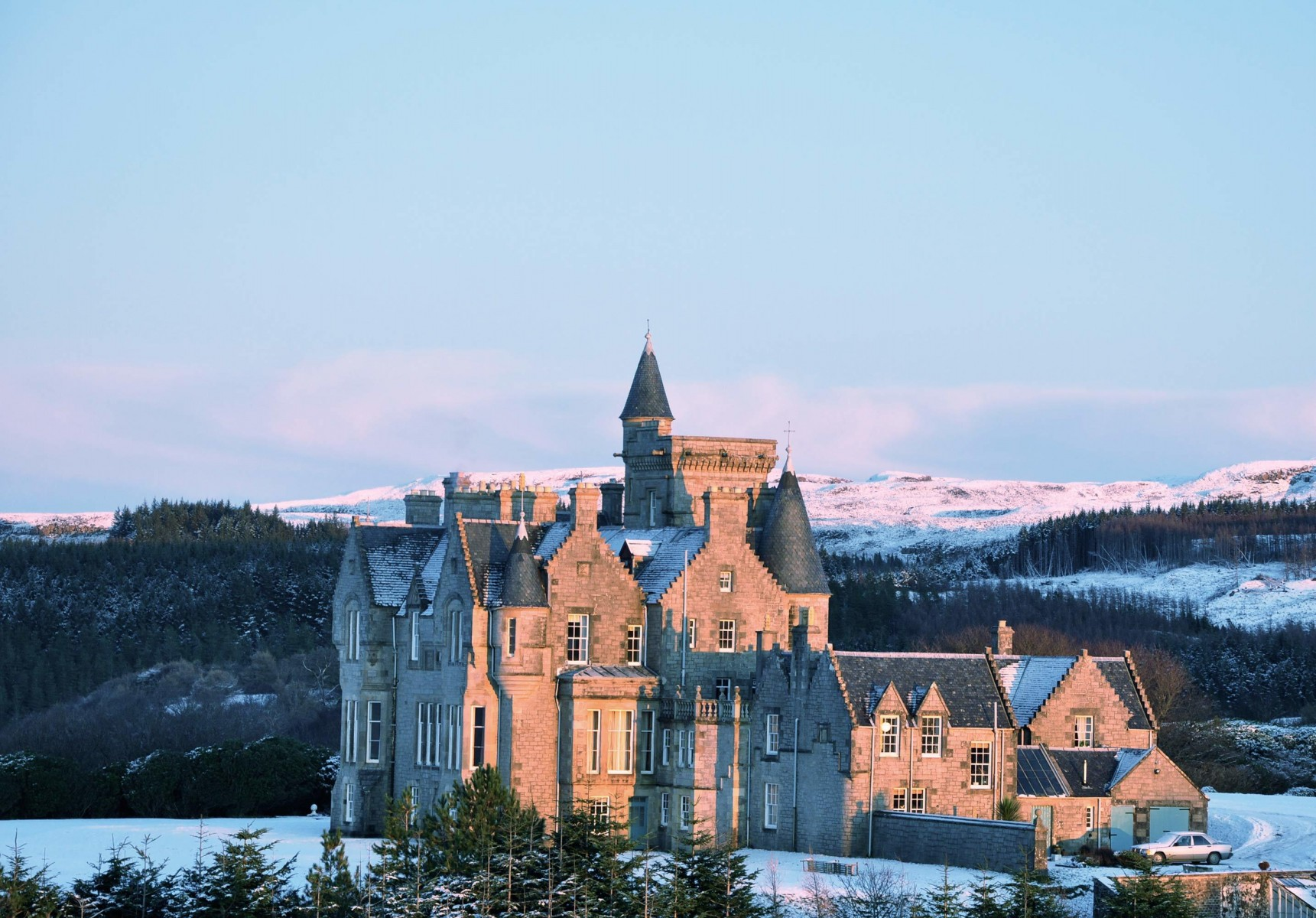 Glengorm Castle, Scotland. Credit Booking.com
