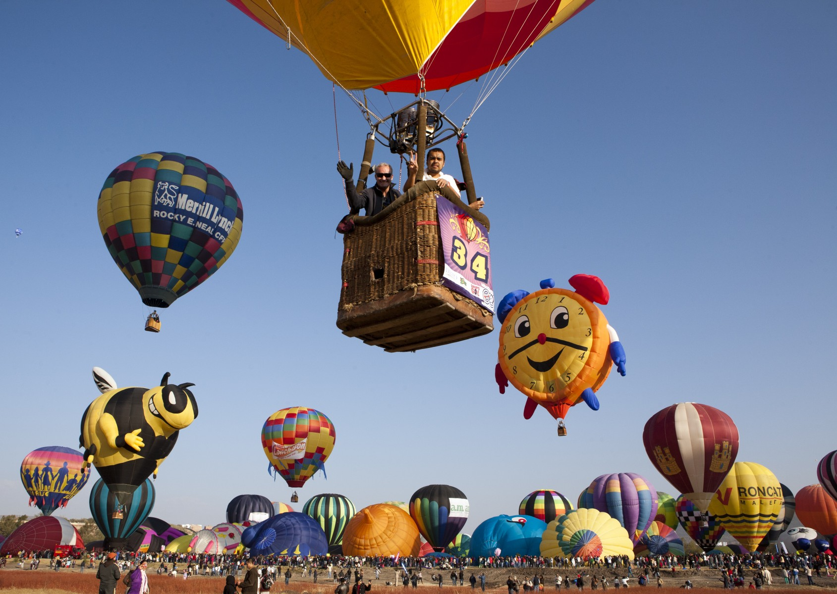 Hot air balloon fest