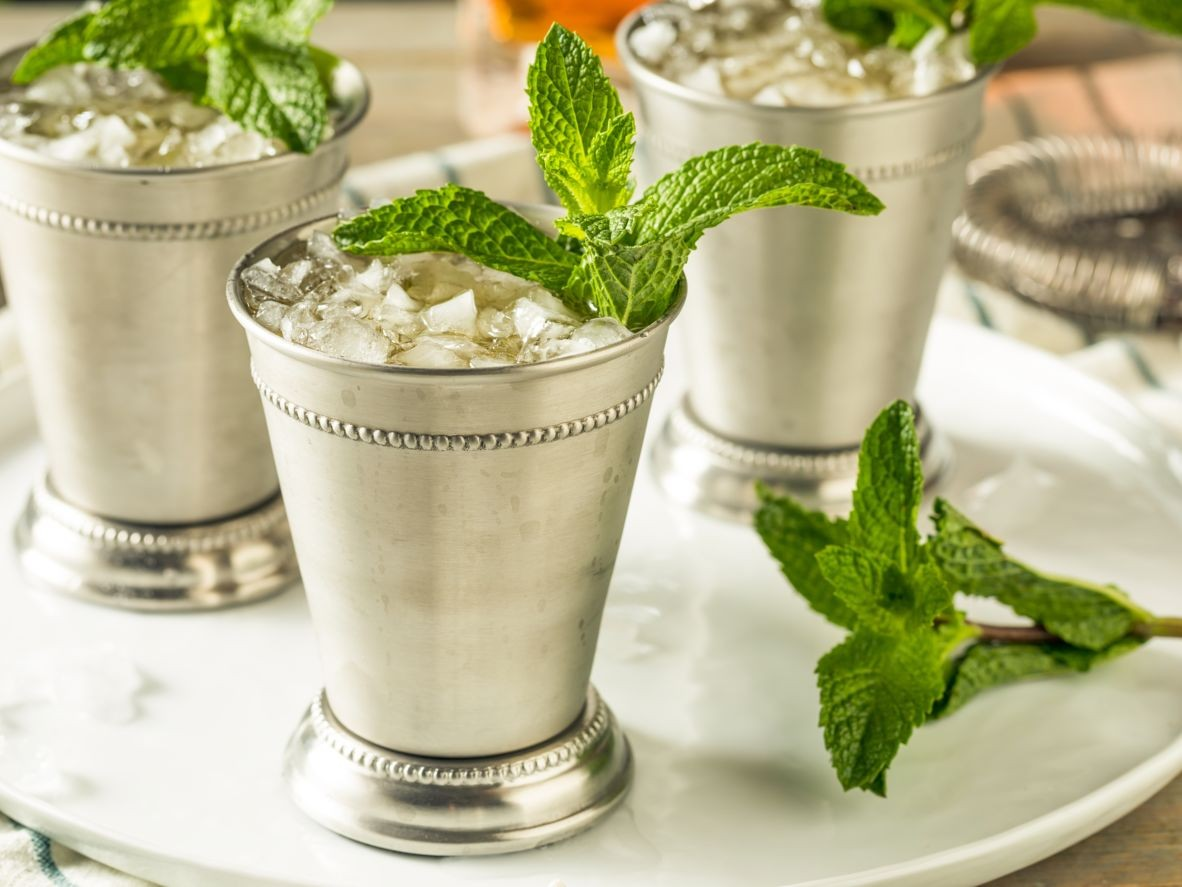 Mint julep in the USA