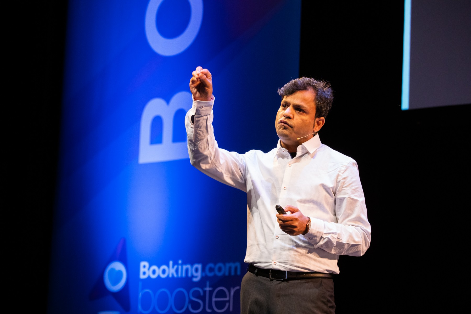 NotOnMap Pitching at 2019 Booking Booster ©FlorisHeuer