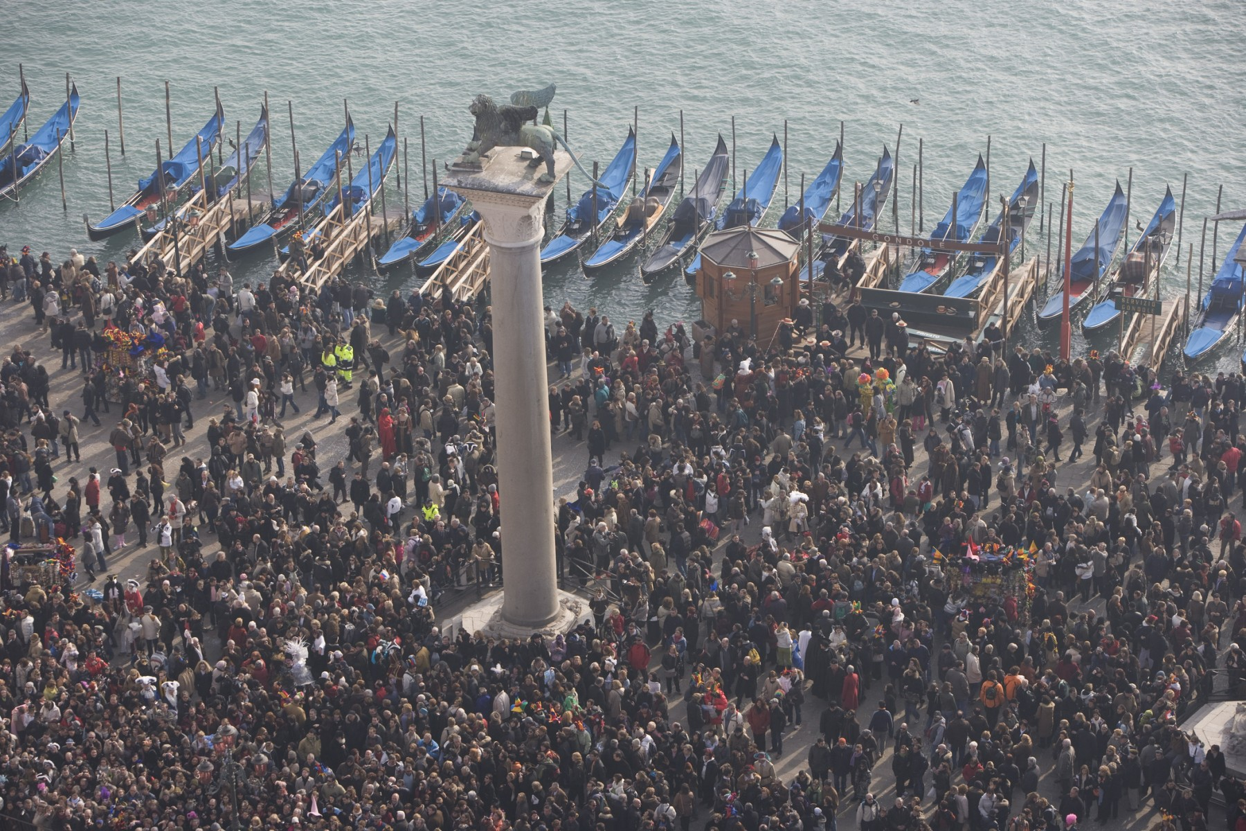 Overcrowding due to tourism in Venice