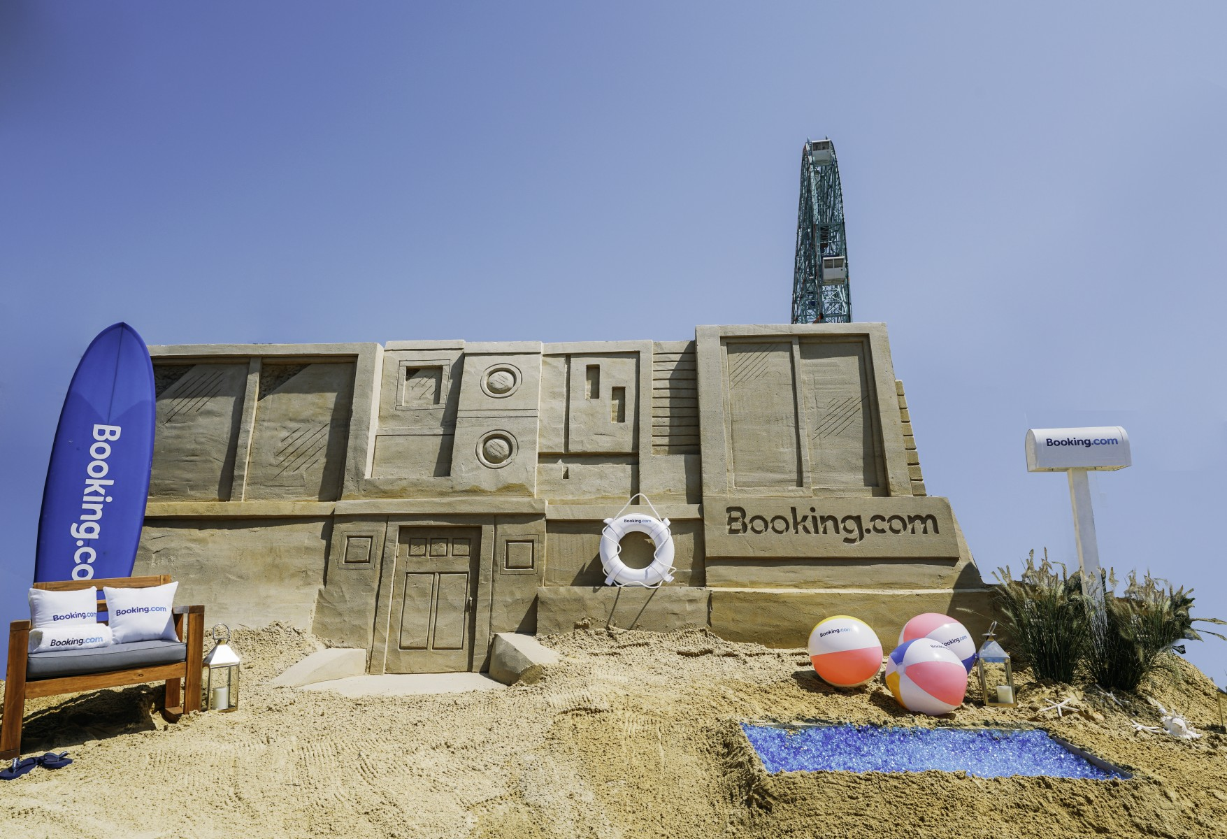 Sandcastle accommodation exterior