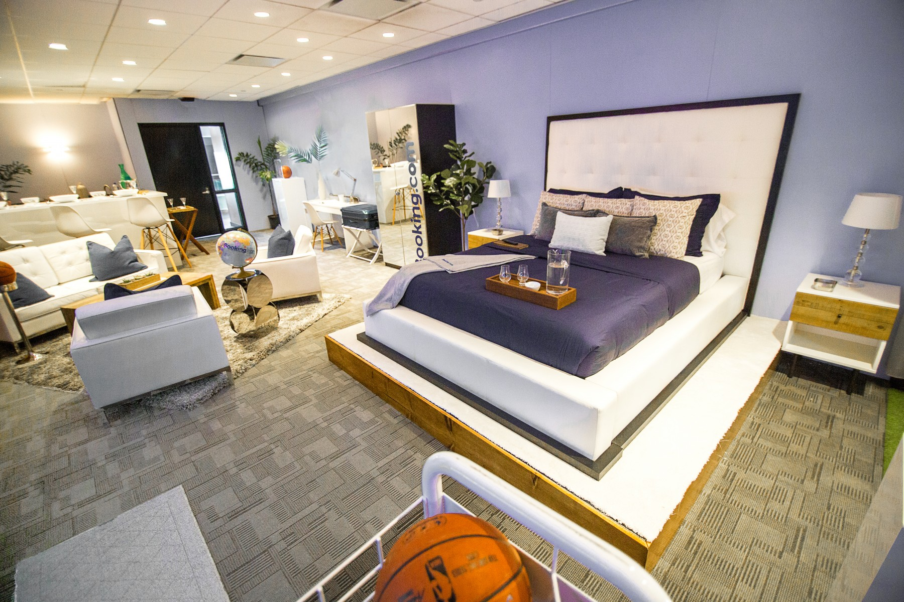 Booking.com Basketball Suite at AmericanAirlines Arena