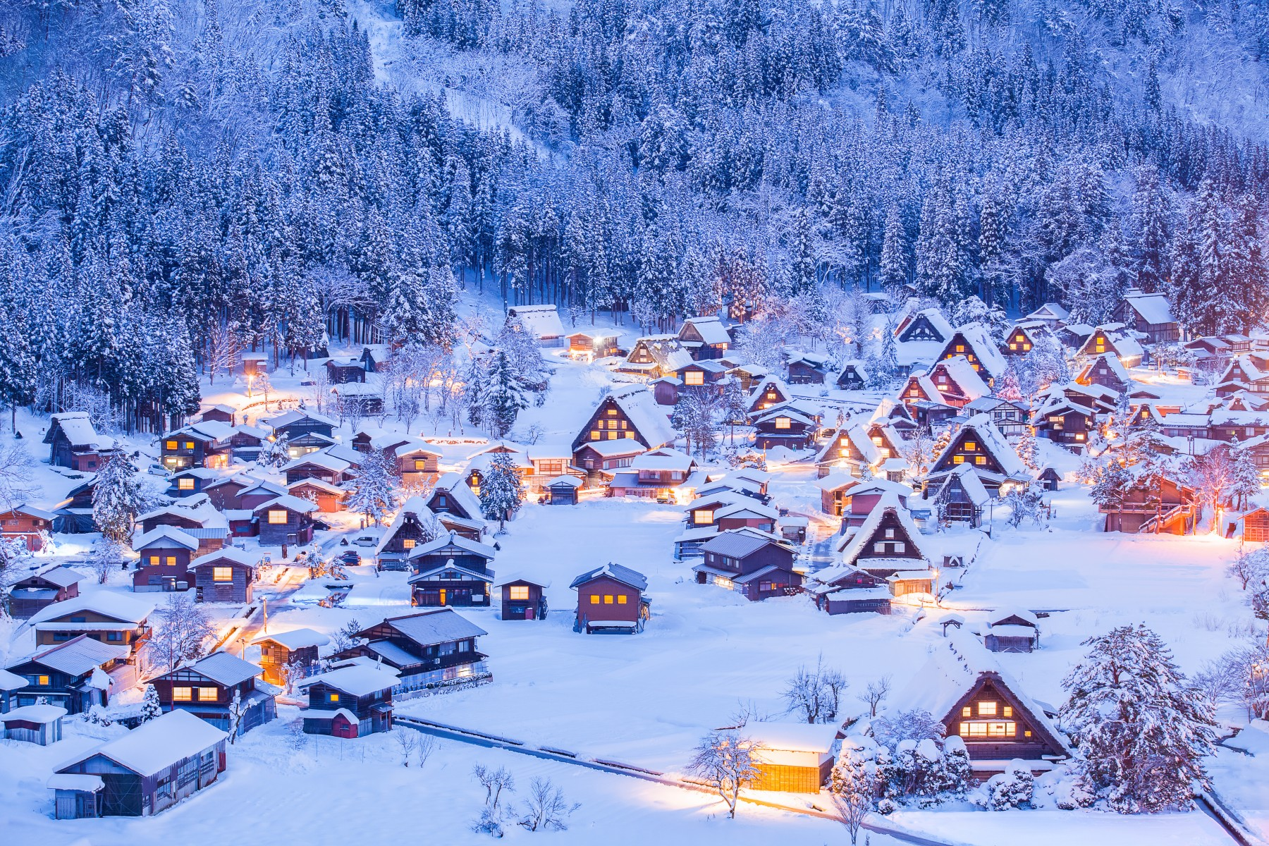 World Heritage Site Shirakawago Village
