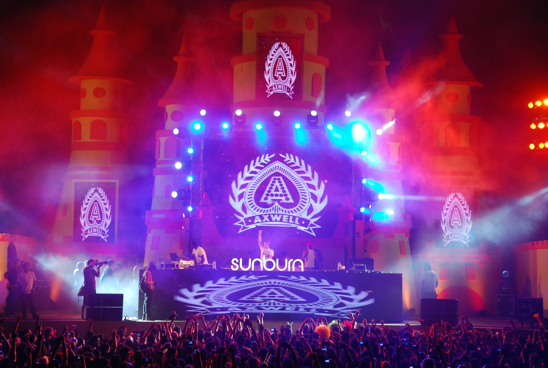 Sunburn festival stage