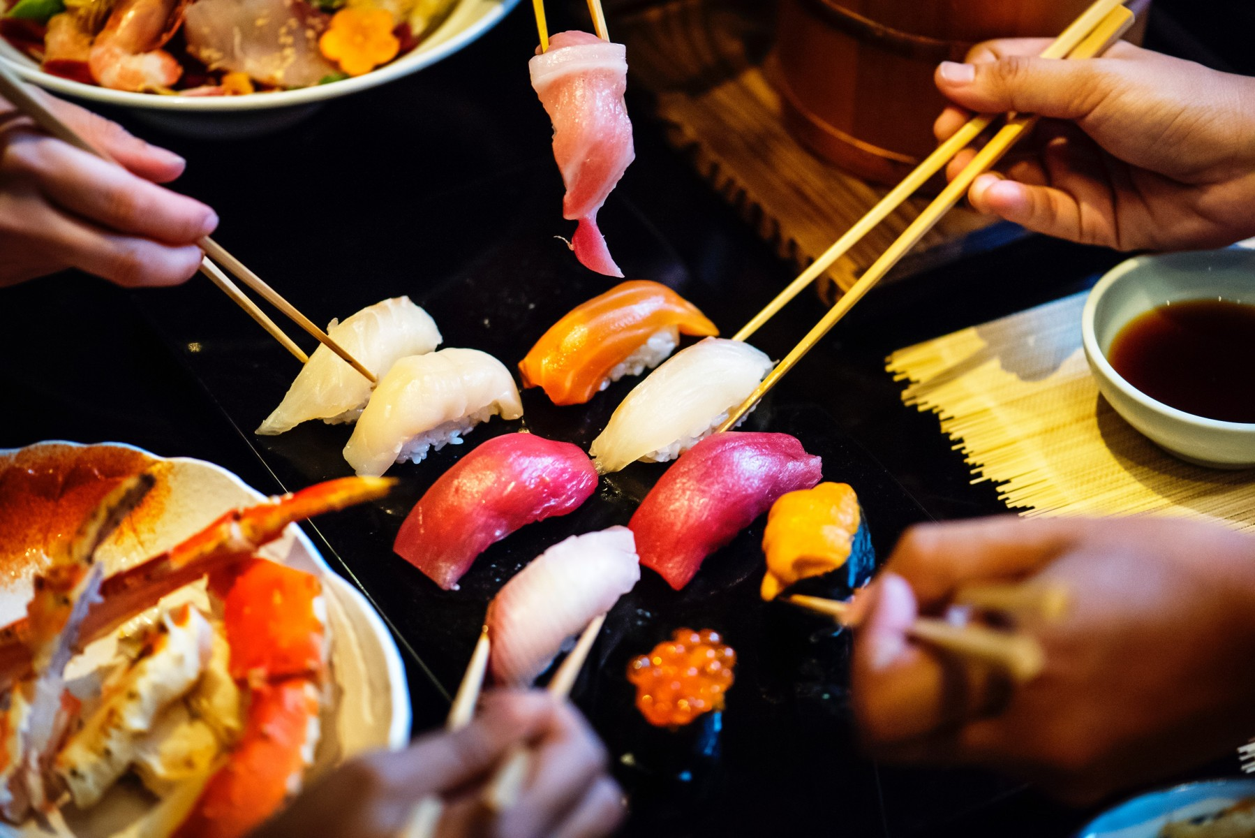 sushi_Photo by rawpixel on Unsplash