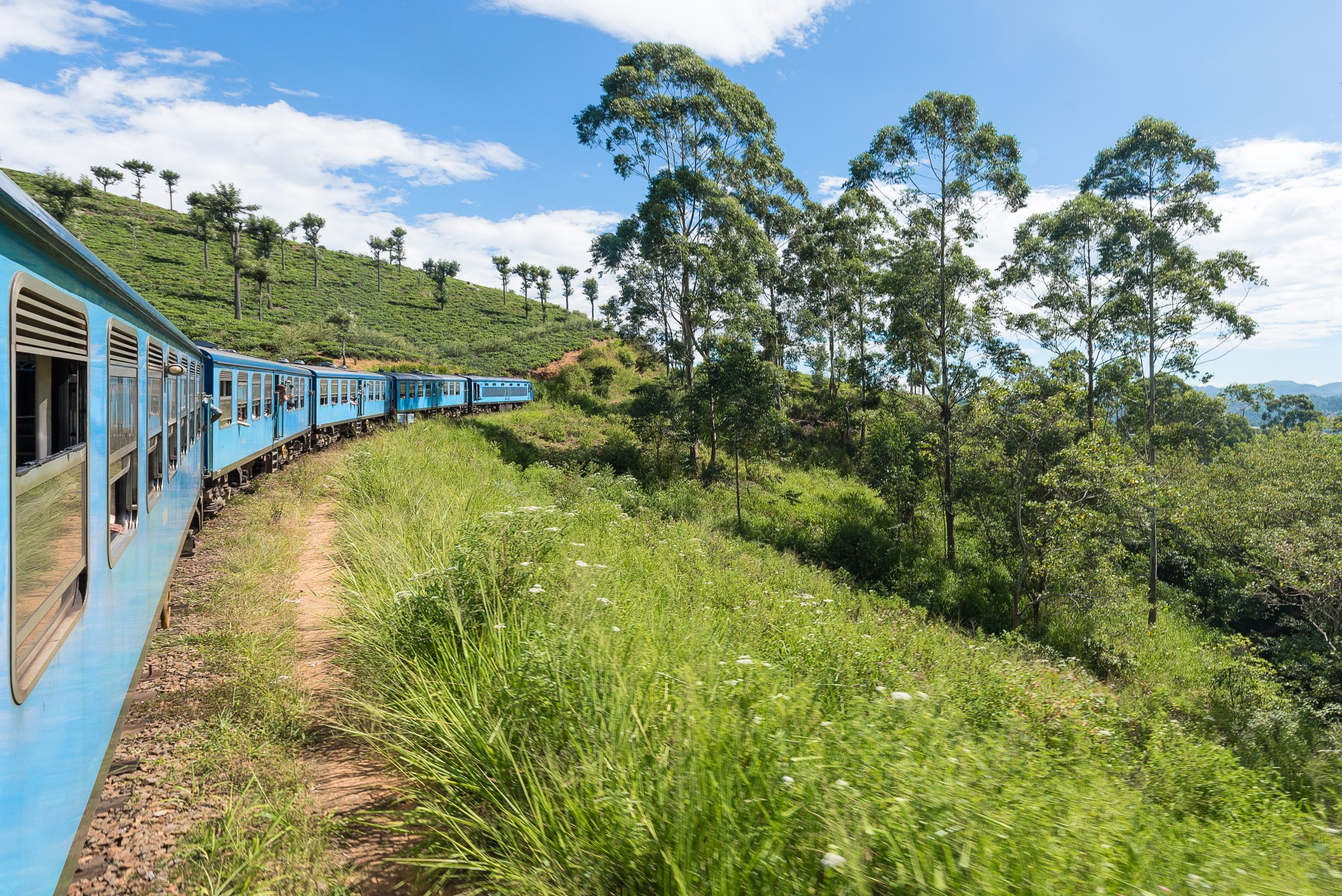 The Ella to Kandy Diesel train
