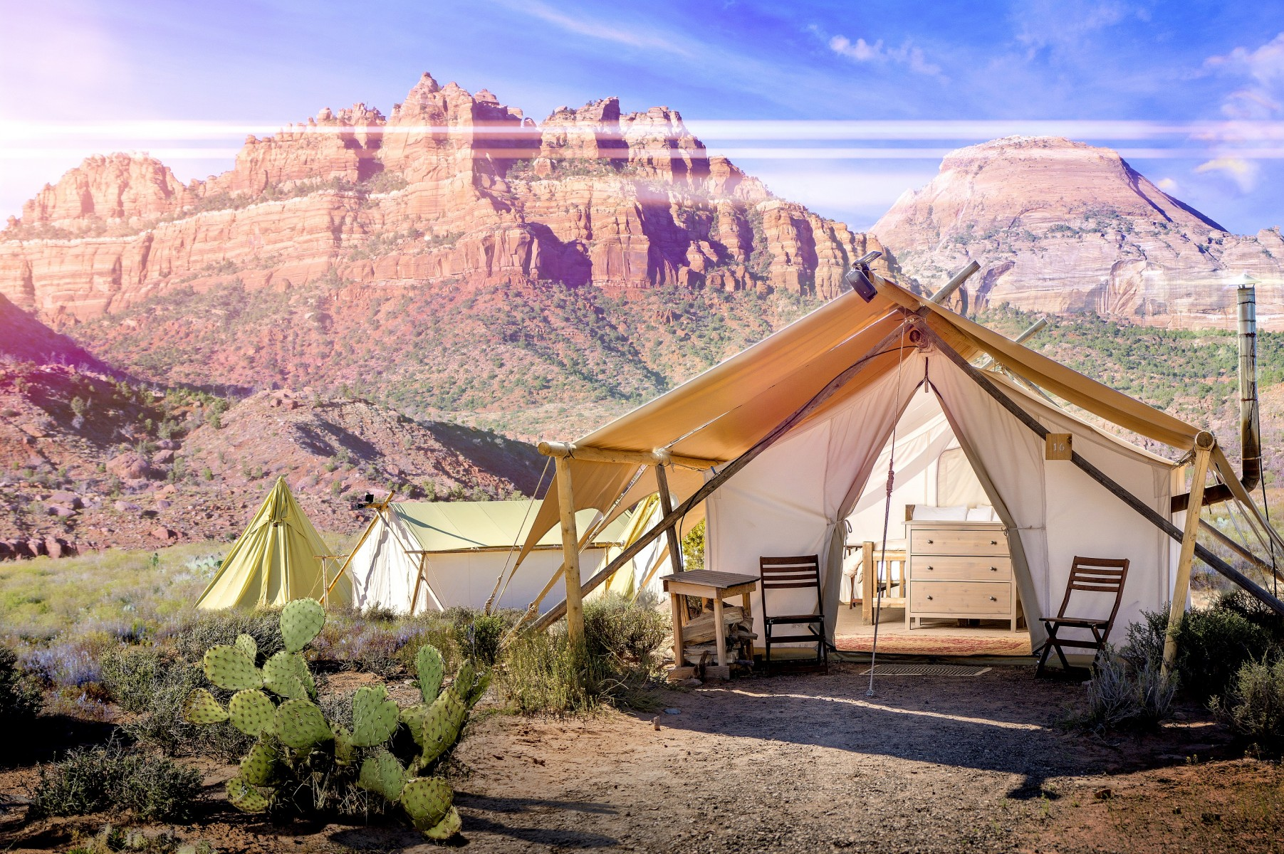 Under Canvas at Zion em Virgin, Utah