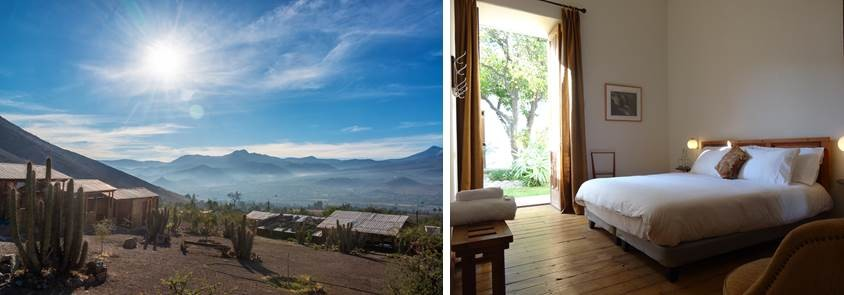 View of the Elqui Valley in Chile_Zaguan Hostel Boutique