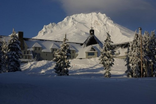 Alojamiento timberline lodge