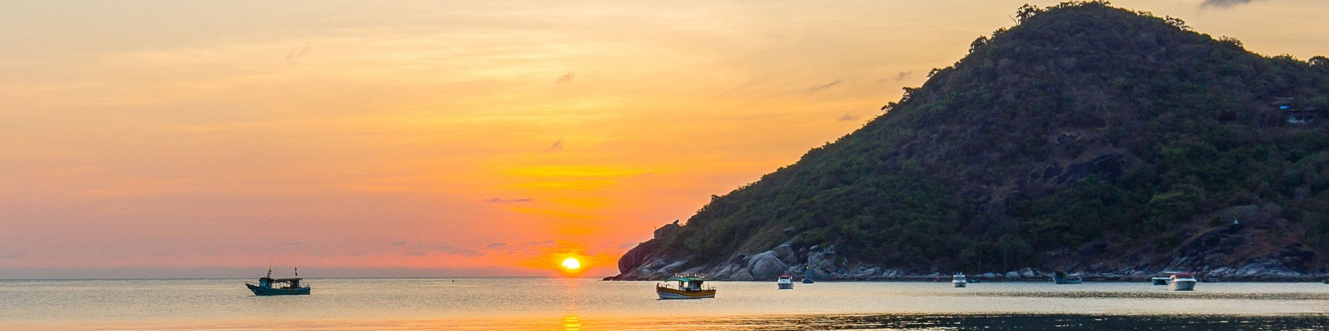 Ao Thong Nai Pan Noi in Thailand