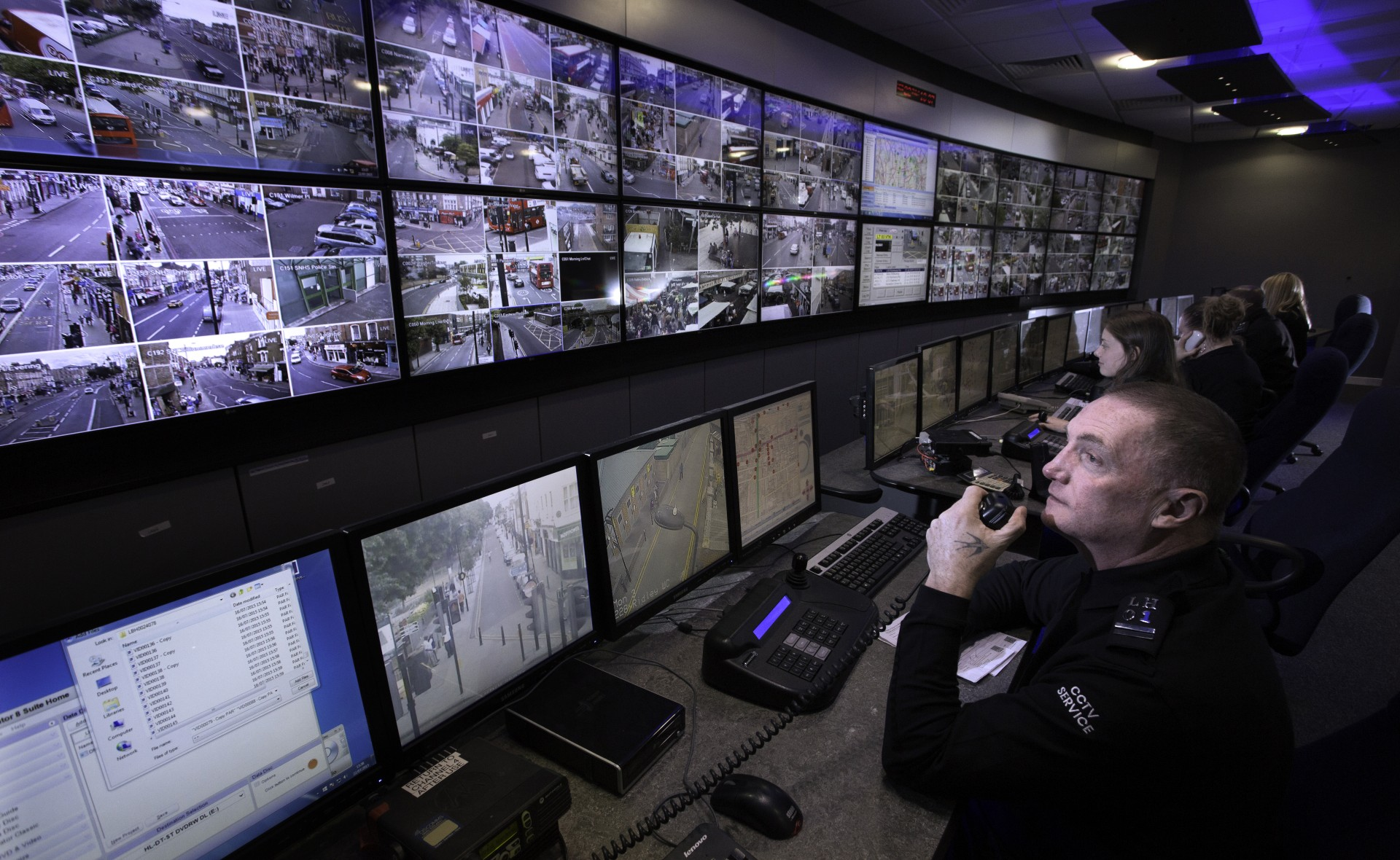Hackney S Improved Cctv Control Centre Officially Reopens