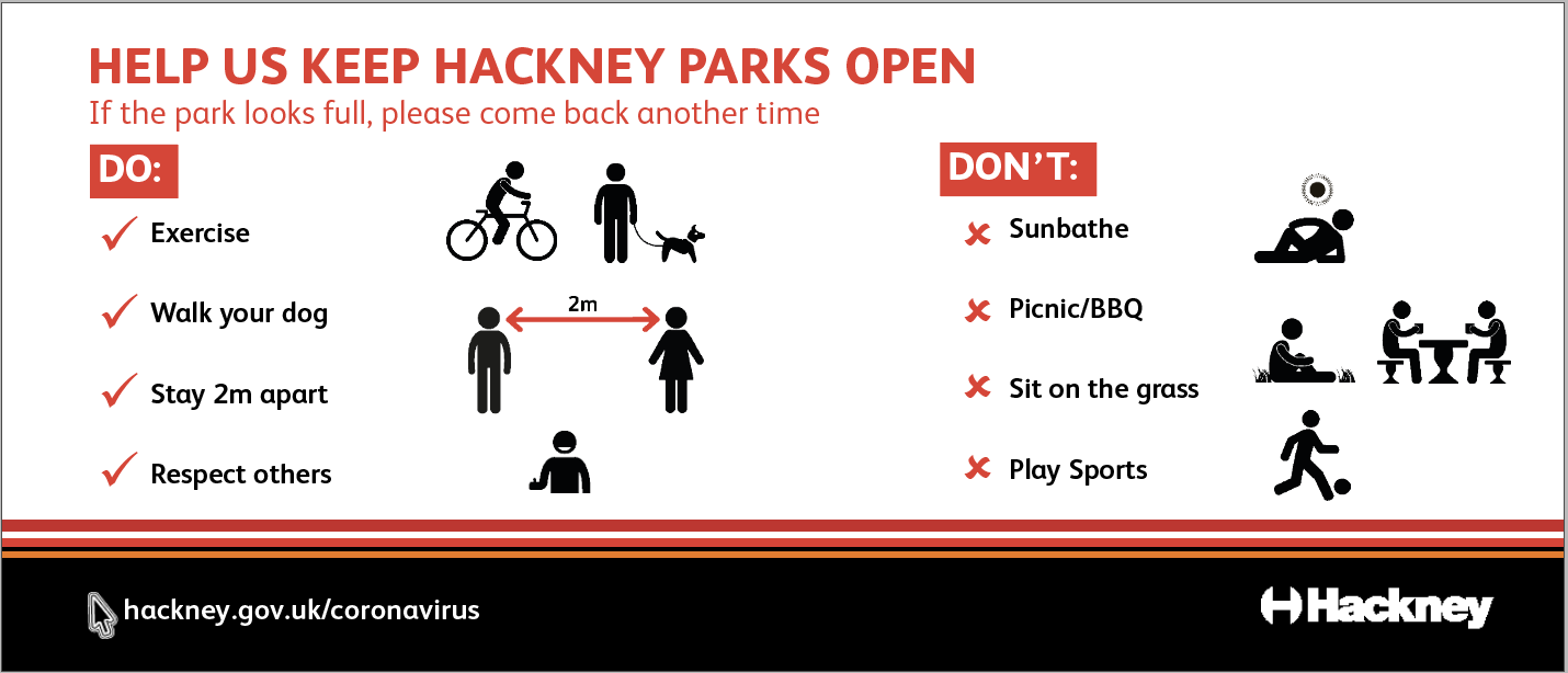 Help us keep parks open