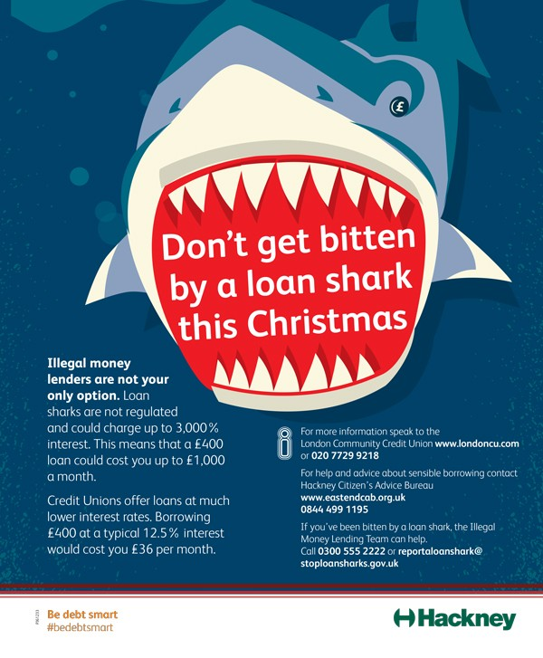Don't get bitten by a loan shark this Christmas