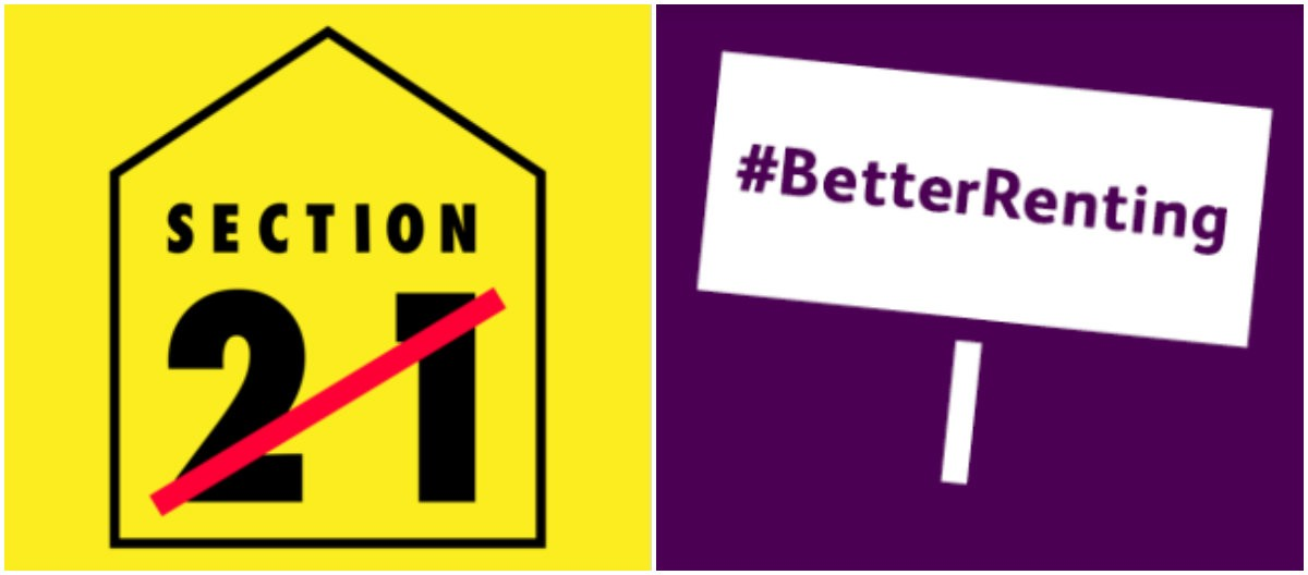 The Council has pushed for an end  to Section 21 evictions through the  #BetterRenting campaign, partnering with Generation Rent's End Unfair Evictions initiative
