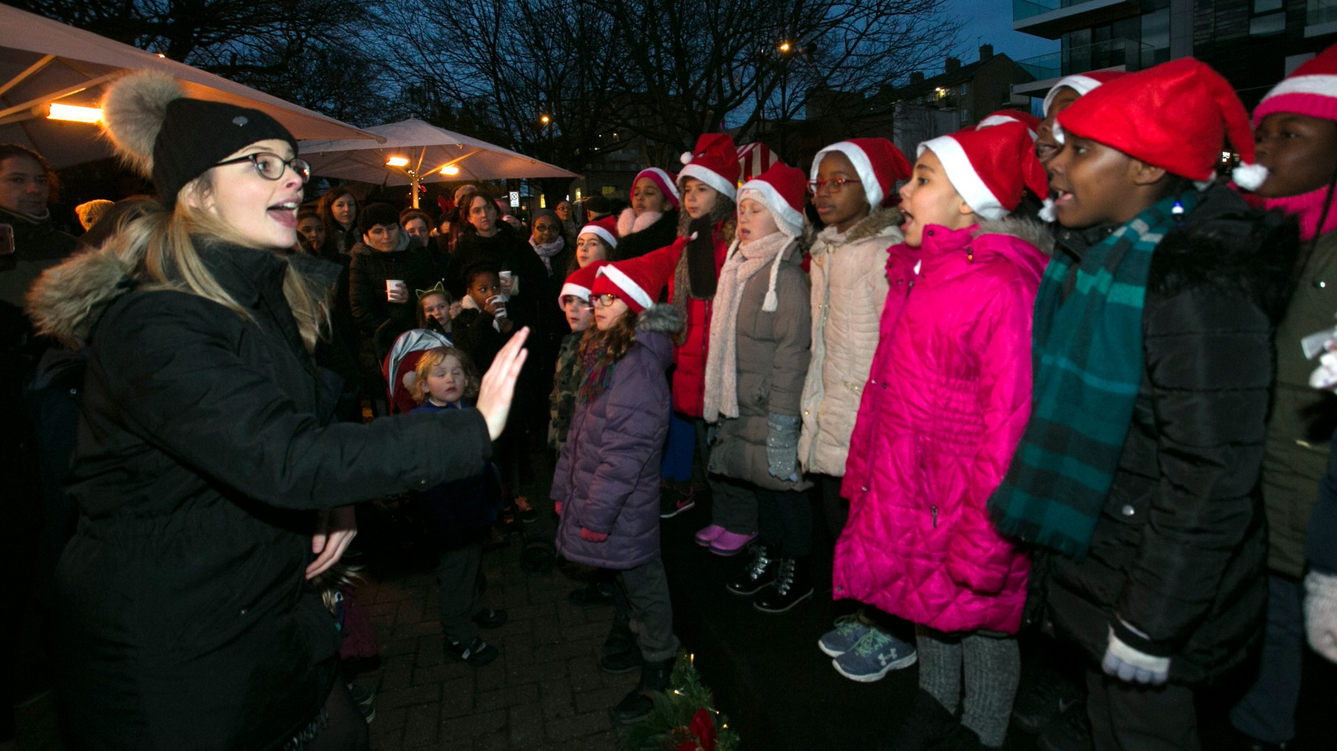 Woodberry Down Community Primary School choir