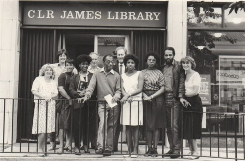 Hackney History Walks - James Baldwin visits CLR James Library 1985
