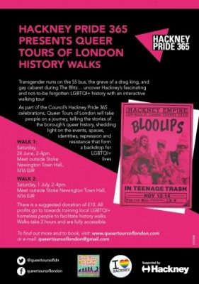 History Walks Hackney Pride 365