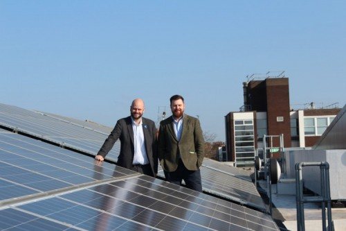 Mayor Glanville and Cllr Burke announce half of Hackney electricity to come from renewable energy from 1 April 2019
